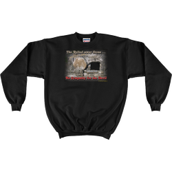 Black The Rolled-away Stone Sweatshirt