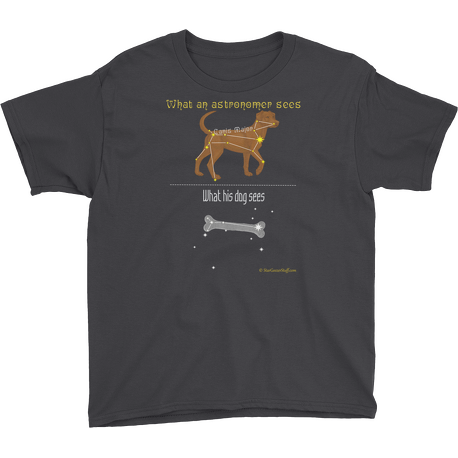 Black Canis Major Youth T-shirt