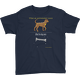 Navy Canis Major Youth T-shirt