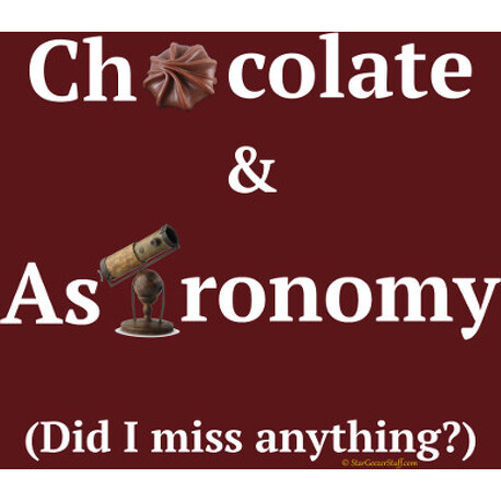 Chocolate and Astronomy