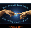 Man and Stars Psalm 19